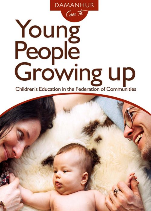 Young people growing up